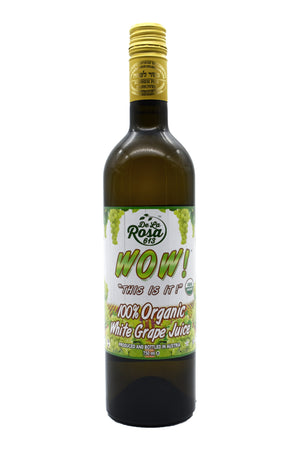 Dela Rosa Grape Juice White Organic 750Ml