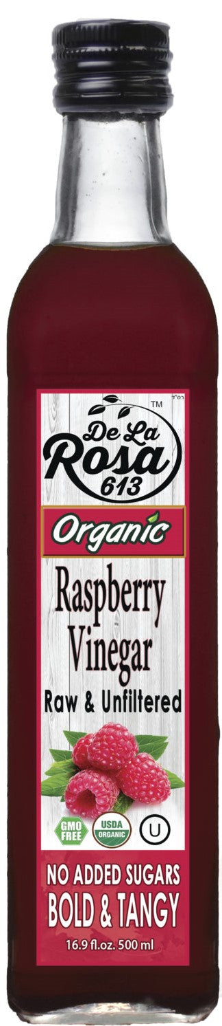 Dela Rosa Raspberry Vinegar Organic 500ml