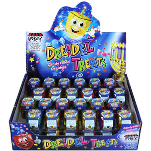 Paskesz Dreidel Treats Display 30G