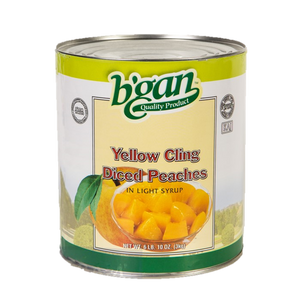 Eden Bulk Peach Diced In Light Syrup 3Kg (A10)