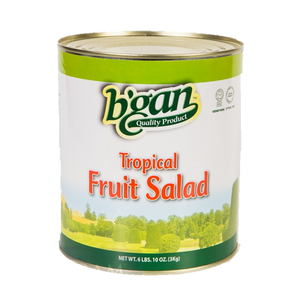 Eden Bulk Tropical Fruit Salad In Natural Juice 3Kg (A10)