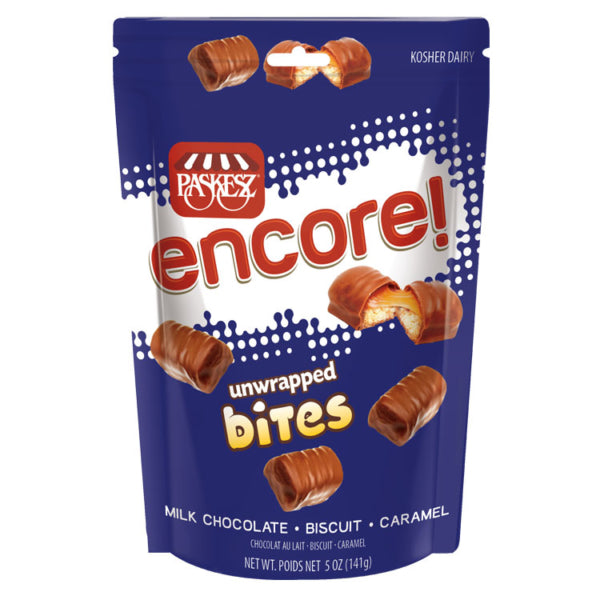 Paskesz Encore Unwrapped Bites Bag 141gr