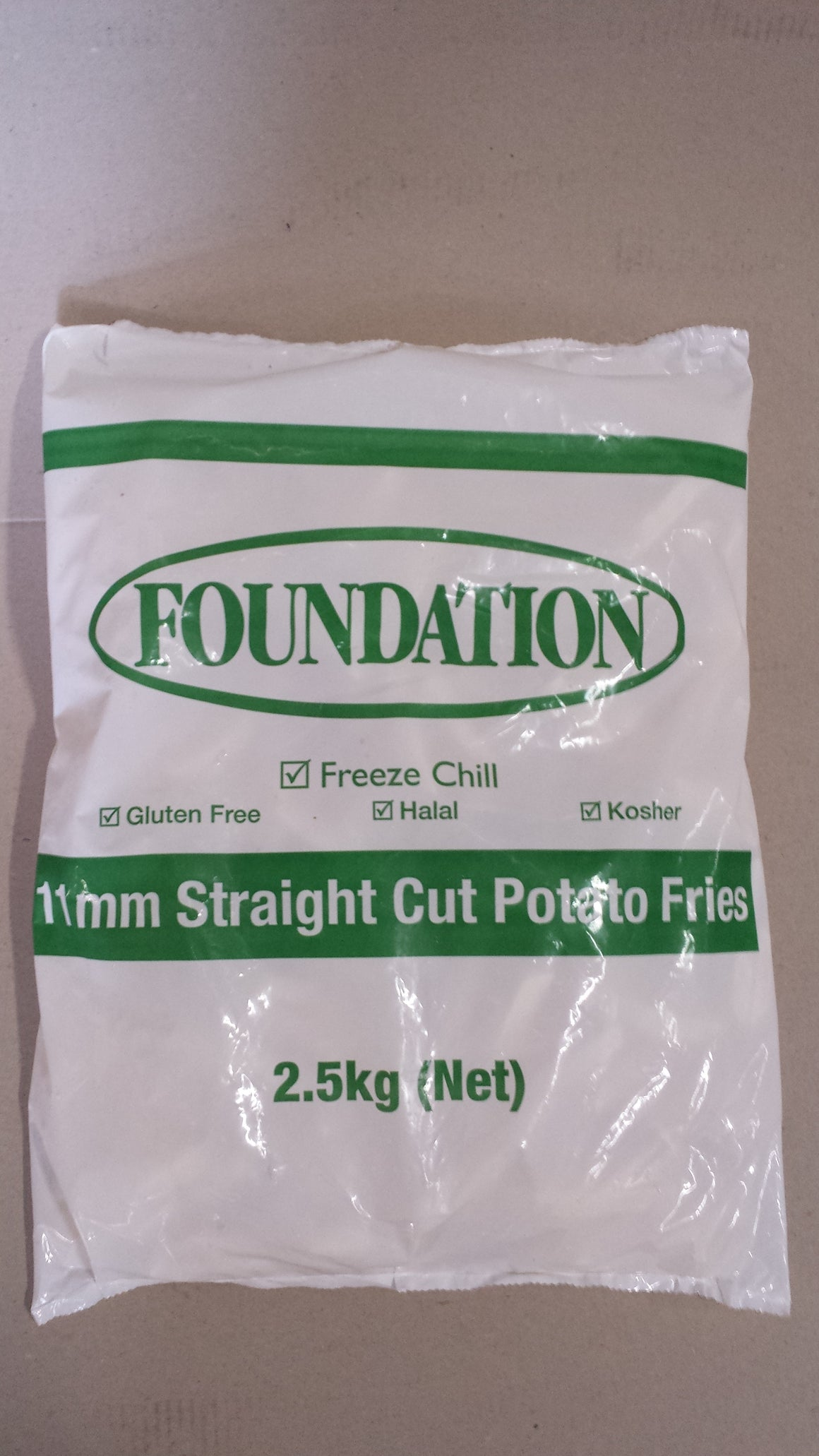 Frozen Chips Foundation 11mm 2.5Kg