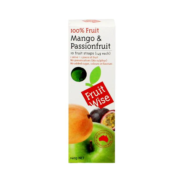 Fruit Wise Apple Mango & Passionfruit 10 x 14Gr