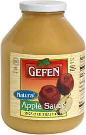 Gefen Natural Apple Sauce 1.48Kg
