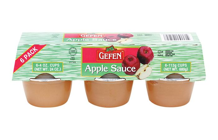 Gefen Apple Sauce 6-Pack x 113G