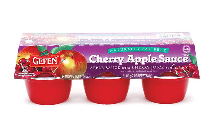 Gefen Cherry & Apple Sauce 6-Pack x 113G
