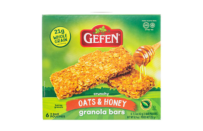 Gefen Granola Oats & Honey Bars 6pk 252g