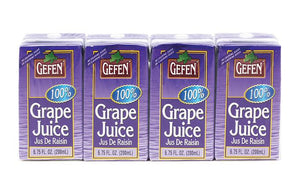 Gefen Grape Juice Prima 4Pack 200Ml