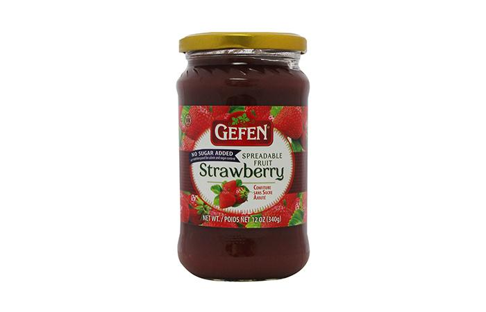 Gefen Jam Strawberry Sugar Free - Passover 340G