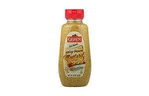 Gefen Mustard Spicy Brown 340G