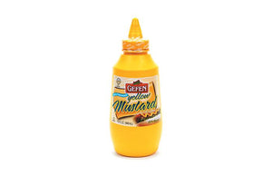 Gefen Mustard Yellow Squeeze 946Ml