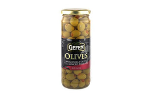 Gefen Olives Spanish Manzanilla Stuffed 283Gr (10Oz)