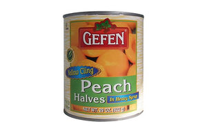 Gefen Peaches Halves 820G