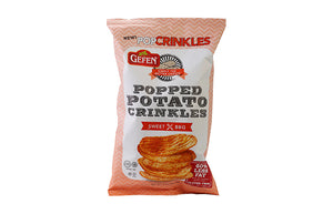 Gefen Popped Potato Crinkles Sweet BBQ 100Gr