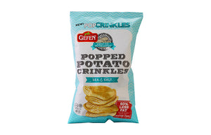 Gefen Popped Potato Crinkles Sea Salt 100Gr