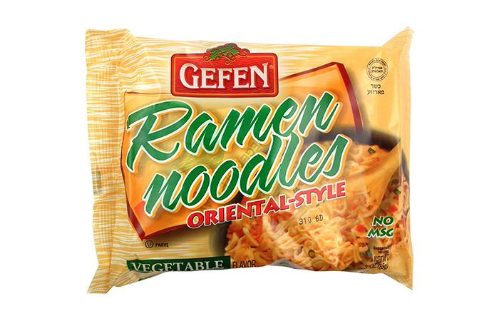 Gefen Ramen Noddles No Msg Vegetable 85Gr