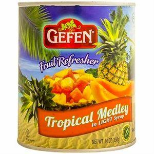 Gefen Tropical Fruit Medley In Light Syrup 850G