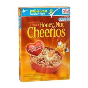 General Mills Honey Nut Cheerios 347Gr