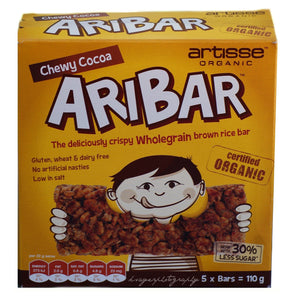 Artisse Organic Aribar Chewy Cocoa 5Pack 110Gr