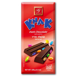 Gross Knak Dark Chocolate With Lentils 100Gr