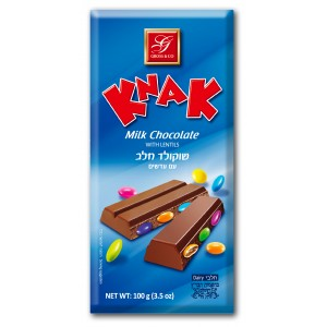 Gross Knak Milk Chocolate With Lentils 100Gr