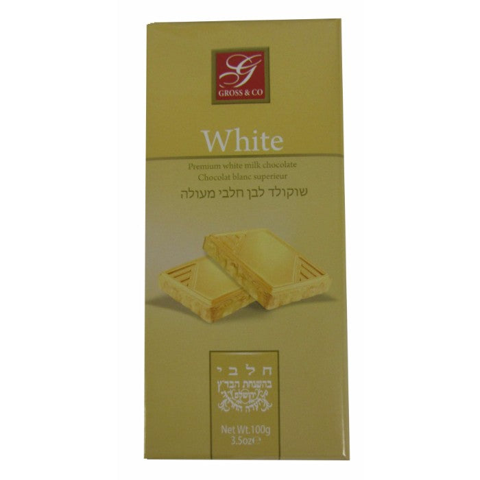 Gross Swiss White Chocolate 100Gr
