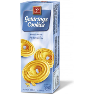 Gross Biscuit Goldrings Vanilla Cookies 300g