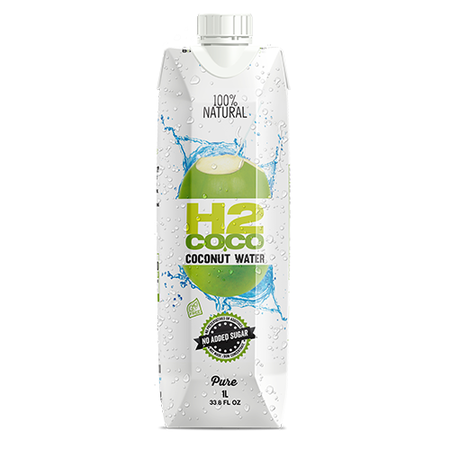 H2Coco Coconut Water 100% Natural 1L
