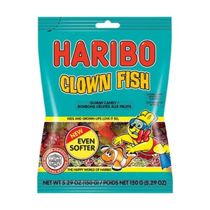 Haribo Clown Fish 150Gr