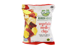 Heaven & Earth Vegetable Medley Chips 28g