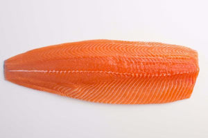 Huon Fresh Salmon Portion Skin Off 5Pk Per 1Kg Price