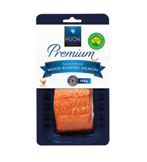 Huon Premium Hot Smoked Salmon Portion 150G