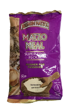 Jerusalem Matza Meal Super Fine 375G
