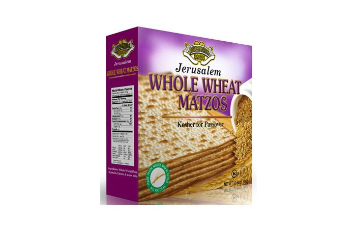 Jerusalem Matza Whole Wheat 300G