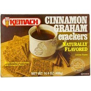 Kemach Cinnamon Graham Crackers 408G