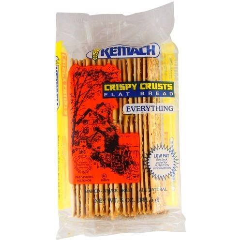 Kemach Flat Bread Everything 142G