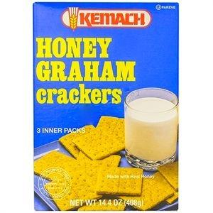 Kemach Honey Graham Crackers 408G