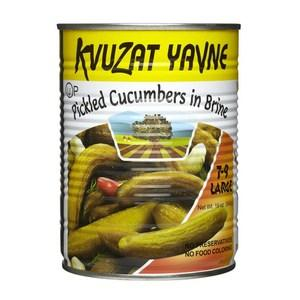 Kvuzat Yavne Cucumbers (Pickles) In Brine 540G