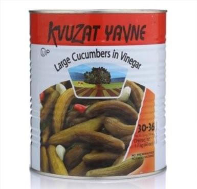 Kvuzat Yavne Cucumbers In Vinegar 3Kg