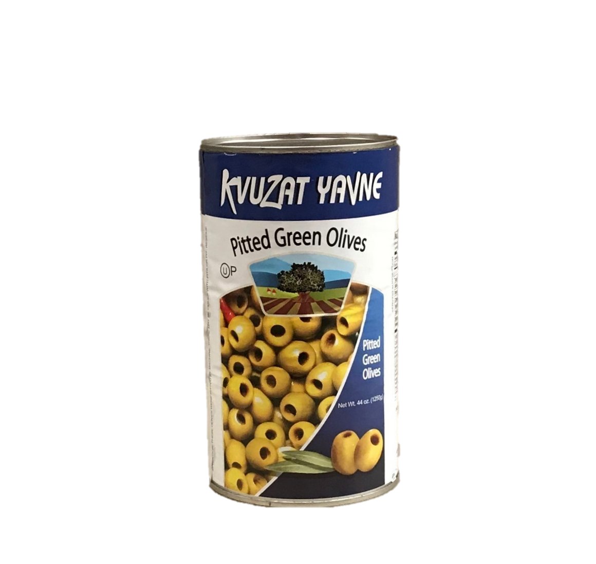 Kvuzat Yavne Green Olives Pitted 1.3Kg