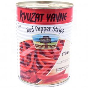 Kvuzat Yavne Red Pepper Strips 540G