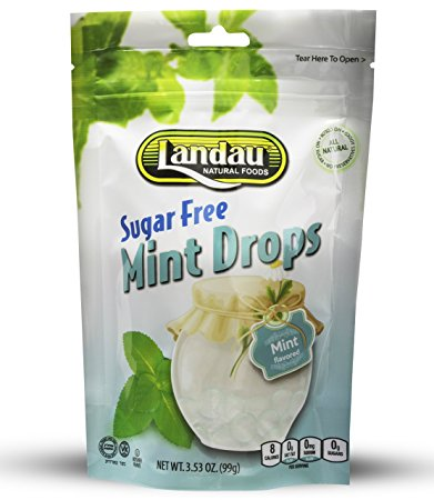 Landau Mint Drops Sugar Free 99g