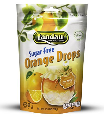 Landau Orange Drops Sugar Free 99g