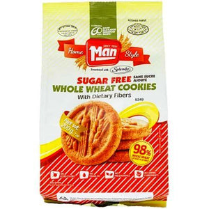 Man Cookie Bag Wholewheat Sugar Free 200Gr