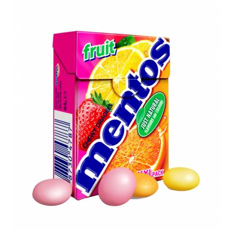 Mentos Fruit Box Xxl 64g
