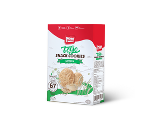 Man Snack Cookie To Go Granloa - 6 Pack 104g