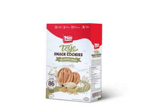 Man Snack Cookie To Go Whole Wheat - 6 Pack 104g