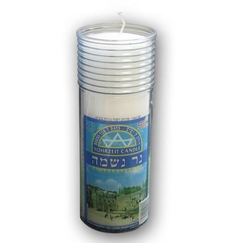 Neronim Memorial Candle 7 Day Plastic