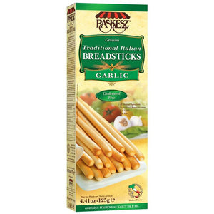 Paskesz Breadsticks Garlic 130Gr